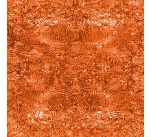 ironic chaos - (orange) Photographic Print