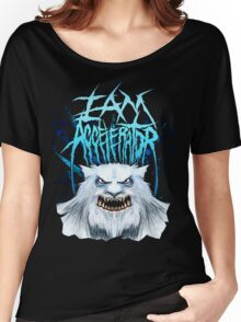 iamaccelerator - SNOW YETI  Women's Relaxed Fit T-Shirt