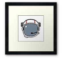 Astronaut Helmet Framed Print