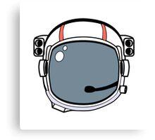 Astronaut Helmet Canvas Print