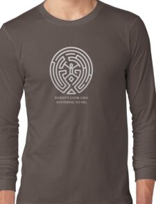 The Maze - Doesn't Look Like Anything To Me. Long Sleeve T-Shirt
