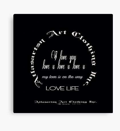 Atlasartsn Art Clothing Inc. Canvas Print