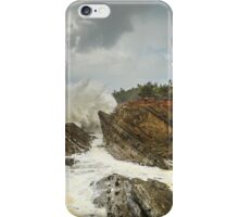 Fury On The Oregon Coast iPhone Case/Skin