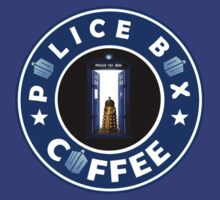 Police Box Coffee | Doctor Who by strangebird2014
