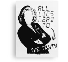 "Dana Scully ""all lies lead to the truth"" Canvas Print"