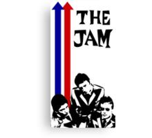 The Jam Double Arrow Tee Canvas Print