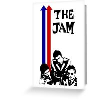 The Jam Double Arrow Tee Greeting Card