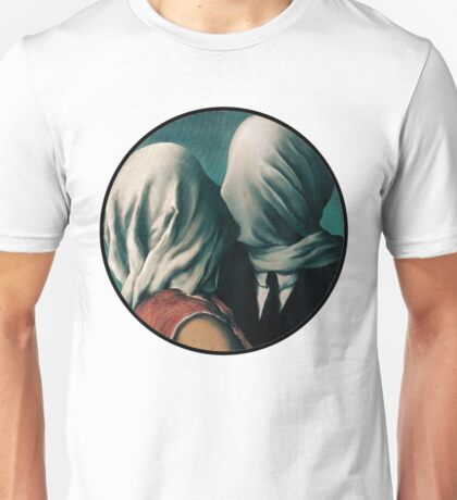 The Lovers Rene Magritte Unisex T-Shirt