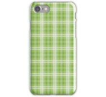 Color of the Year Pantone 2017 Designer Colors Greenery Tartan Plaid iPhone Case/Skin