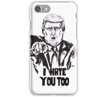 Trumpy iPhone Case/Skin