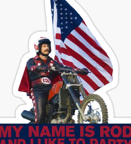My Name Is Rod Sticker