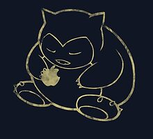 Snorlax loves Apple by chriszyu