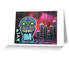 City of Strange Greeting Card