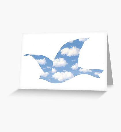 Rene Magritte La Promesse Greeting Card