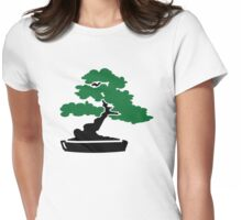 Bonsai Tree Womens Fitted T-Shirt