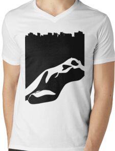 naked Mens V-Neck T-Shirt