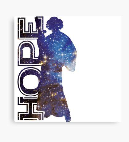 Hope and Princess Leia Canvas Print