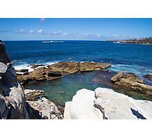 Coogee Rock Pool Photographic Print
