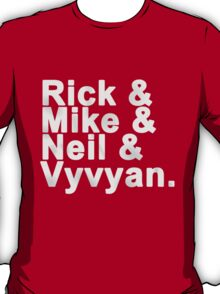 Young Ones - names T-Shirt