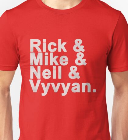 Young Ones - names Unisex T-Shirt