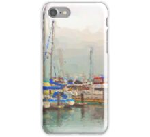 Boats at Pier 39, San Francisco iPhone Case/Skin