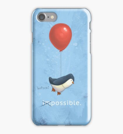 Penguin Possible iPhone Case/Skin