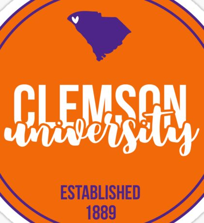 Clemson University - Style 17 Sticker