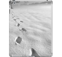memory traces of a cold day - photograph iPad Case/Skin