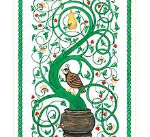 Partridge in a Pear Tree by Katrina Richert