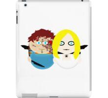 Chucky and Tiffany iPad Case/Skin
