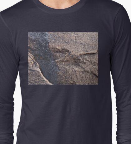 Rock Face, Flinders Rangers Long Sleeve T-Shirt
