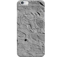 memory traces of a hot day - photograph iPhone Case/Skin