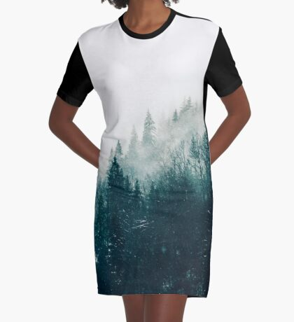 The Silent Forest #redbubble #lifestyle Graphic T-Shirt Dress