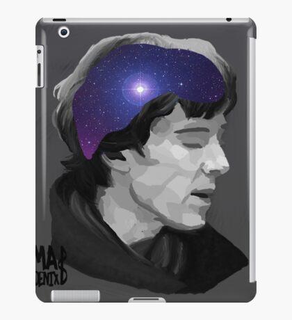 Sherlock- universal minds (grey) iPad Case/Skin