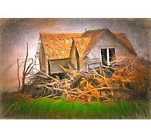 After The Wind Stops Photographic Print