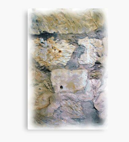 Alamo Bullet Holes Canvas Print