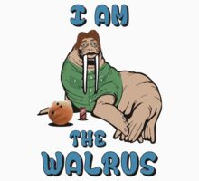 I AM THE WALRUS Baby Tee