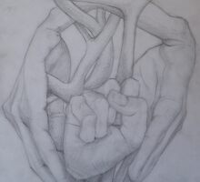 Hand in Heart by saralowe