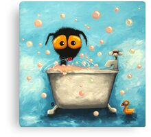 Bathtime Bubbles Canvas Print