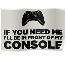 My Console Poster