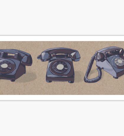Rotary Phones Sticker