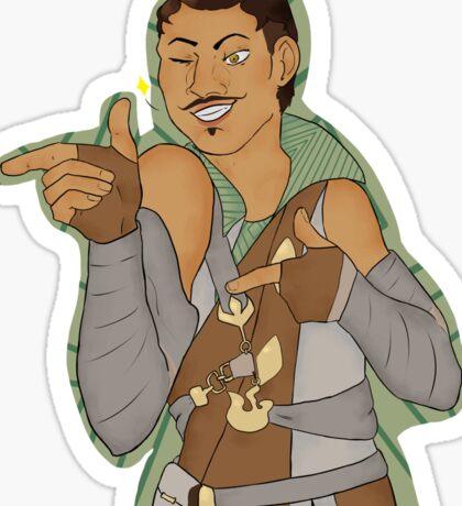 Dorian Pavus - winking Sticker