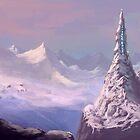 Snowy Voyage by Brandon  Riddoch