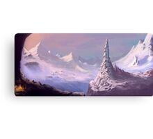 Snowy Voyage Canvas Print