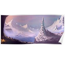 Snowy Voyage Poster