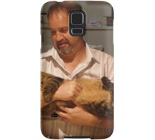 Bruce our son loves 'his' cat, the family's pet. Samsung Galaxy Case/Skin