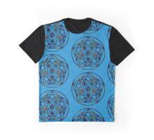 Abundance Fractal Sacred Geometry Graphic T-Shirt