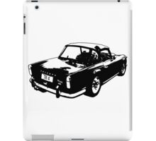 Triumph TR4a IRS iPad Case/Skin