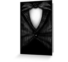 Halloween Town Tux Greeting Card