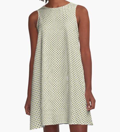 8bit Walter White A-Line Dress